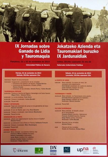 IX Jornadas sobre Ganado de Lidia y Tauromaquia
